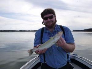 Luke with Fish