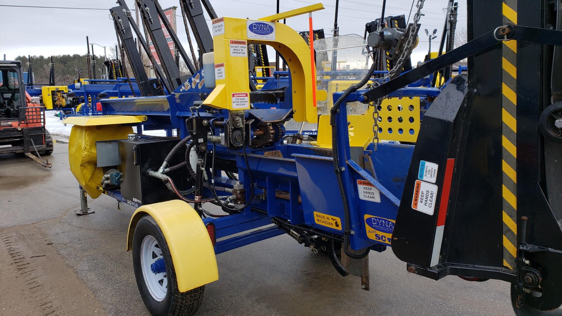 Used DYNA 2018 SC-14 Kohler GasFirewood Processor
