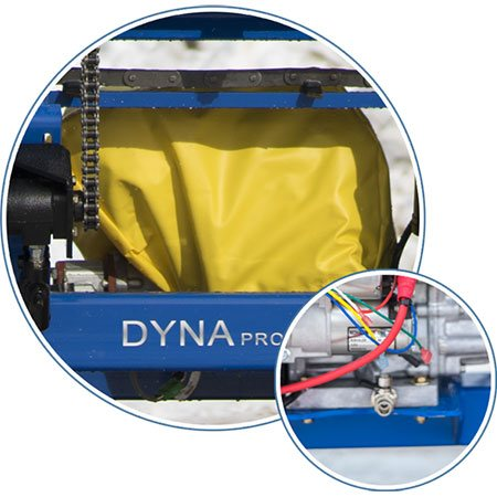 Gas Engine Features shown on DYNA equipment