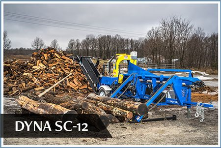 Affordable Firewood Processors DYNA model SC-12 firewood