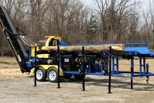 The Portable, High Production Firewood Processor - SC-16 FIREWOOD PROCESSOR