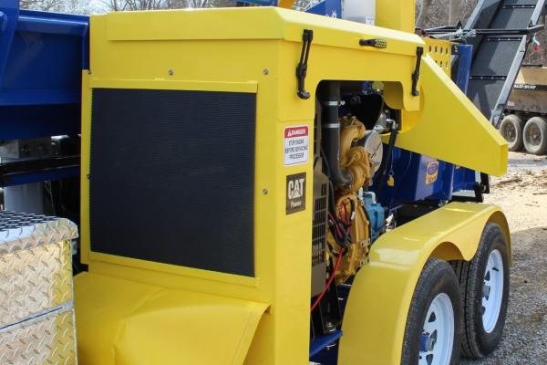Hinged Engine Cover - SC-16 FIREWOOD PROCESSOR