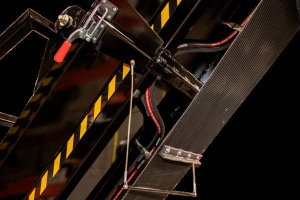 Hanging converyor Pin - DYNA Firewood Processors
