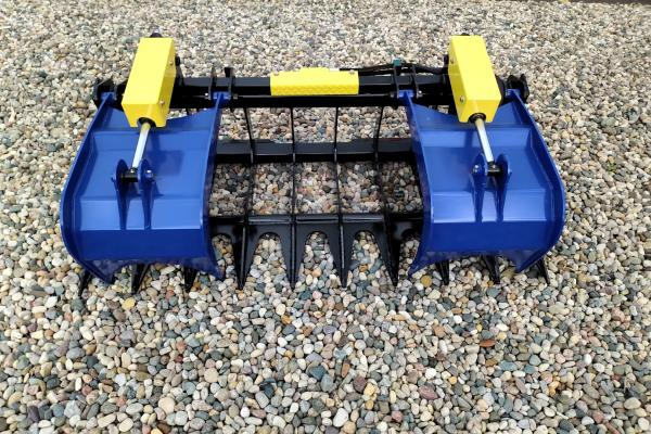 DYNA Skid Steer / Tractor Grapple Attachment
