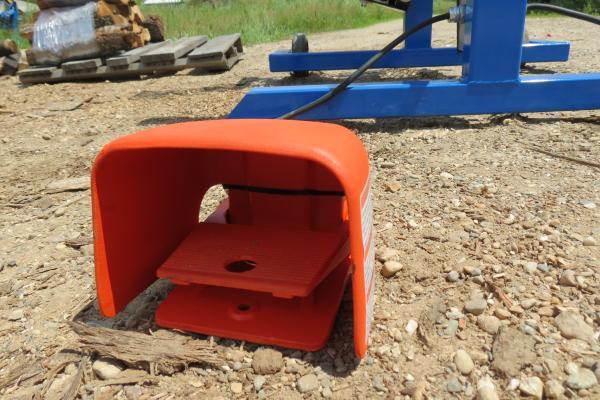 Firewood Bundler Foot Control