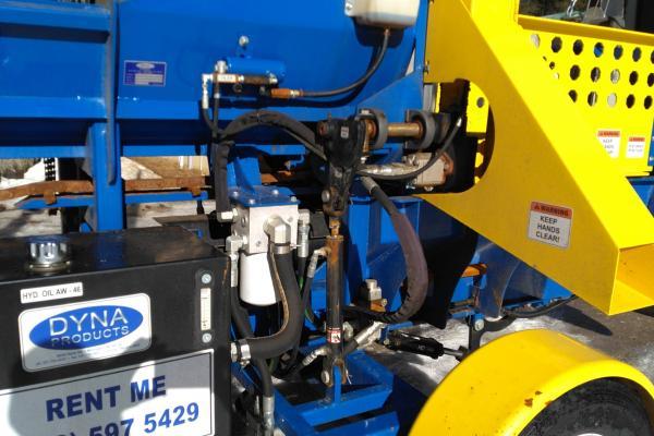 USED DYNA SC-15 Firewood Processor SN 181404 -  Saw Dust Chute