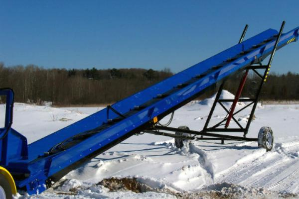 Blue DYNA Conveyor back view.